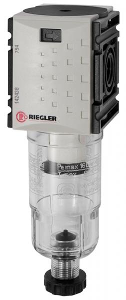 Filter »FUTURA-mini« mit PC-Behälter, 5 µm, BG 0, G 1/4, HA