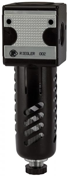 Filter »multifix«, PC-Behälter, Schutzkorb, 5 µm, BG 1, G 3/8, HA