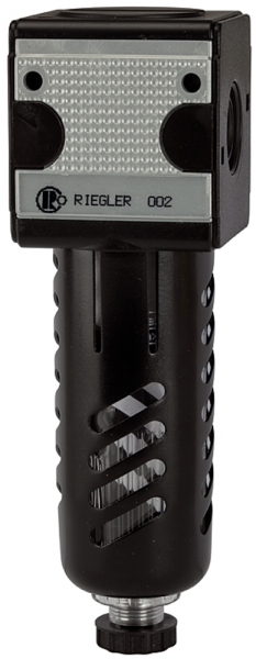Filter »multifix«, PC-Behälter, Schutzkorb, 5 µm, BG 3, G 1/2, HA