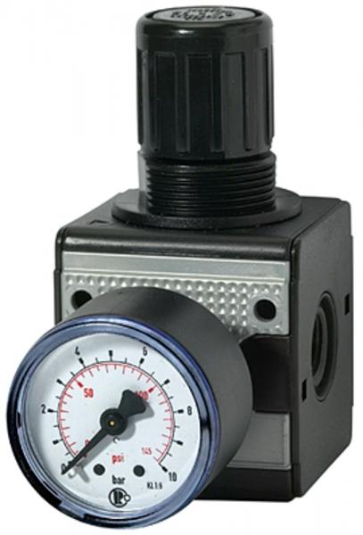 Druckregler »multifix«, inkl. Manometer, BG 1, G 1/4, 0,5 -10 bar