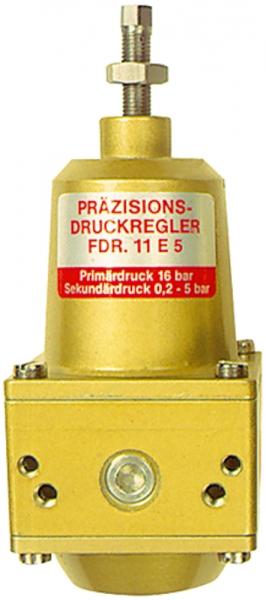Präzisionsdruckregler o. Mano, buntmetallfrei, G 1/4, 0,2 - 5 bar