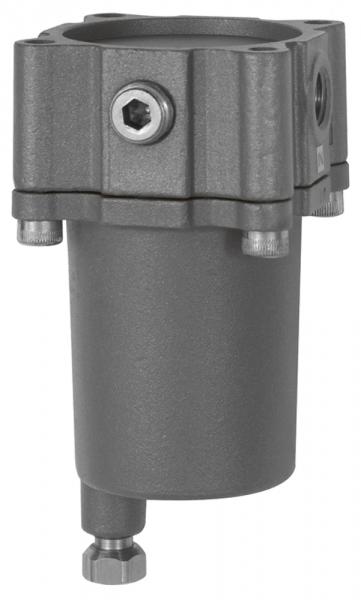 Edelstahl-Guss-Filter, 1.4401, 25 µm, BG 3, G 1/2