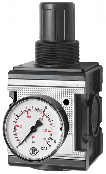 Druckregler »multifix«, inkl. Manometer, BG 4, G 3/4, 0,2 - 6 bar