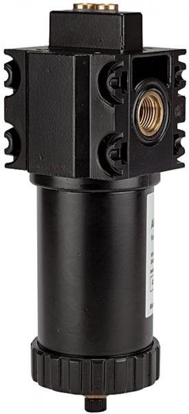 Aktivkohlefilter ohne Differenzdruckmano., 0,005 mg/m³, G 1 1/4