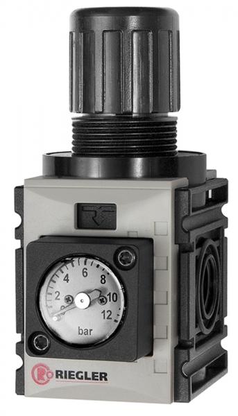 Druckregler, d. DV »FUTURA-mini«, Kompaktmano., G 1/4, 0,5-8 bar