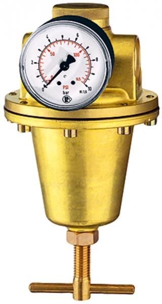 Konstant-Druckregler inkl. Manometer, BG 3, G 1, 0,5 - 6 bar