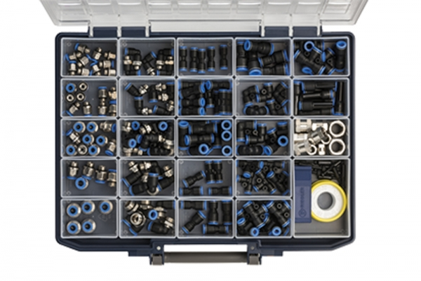 Sortimentsbox Schnellsteckverbindungen »Blaue Serie«