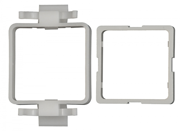 Einbaurahmen aus Kunststoff, passend für Digital-Manometer