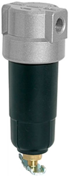 Filter »Standard-mini«, mit Metallbehälter, 8 µm, BG 0, G 1/8