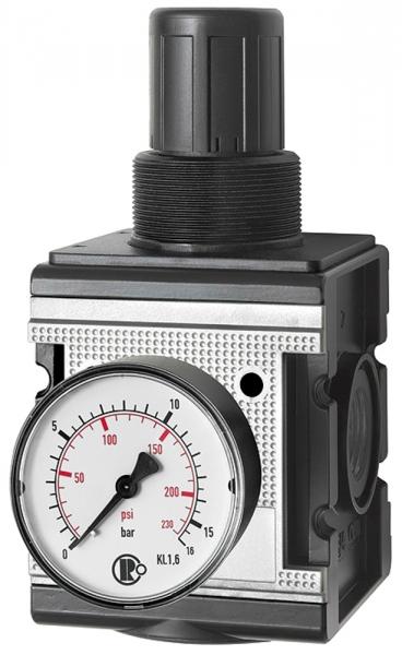 Druckregler »multifix«, inkl. Manometer, BG 4, G 3/4, 0,5-10 bar