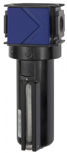 Aktivkohlefilter »variobloc«, Metallbeh., Sichtrohr, BG 2, G 1/2