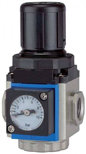 Druckregler »G-mini«, inkl. Manometer, BG 200, G 1/4, 0,5 - 9 bar