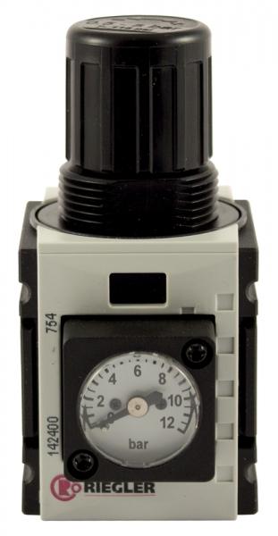 Druckregler »FUTURA-mini«, Kompaktmano., BG 0, G 1/4, 0,5-8 bar