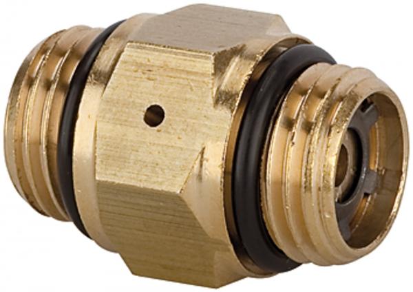 Mini-Druckregler, ohne Sekundärentlüftung, 2 x G 1/4 AG, 4 bar