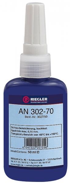RIEGLER Lock AN 302-70, anaerober Klebstoff, hochfest, 50 ml