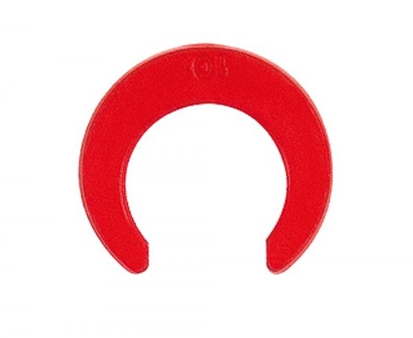 Sicherungsring »speedfit« für Rohr Außen-ø 12 mm, rot, POM