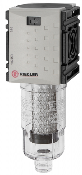 Aktivkohlefilter »FUTURA-mini« mit PC-Behälter, BG 0, G 1/4