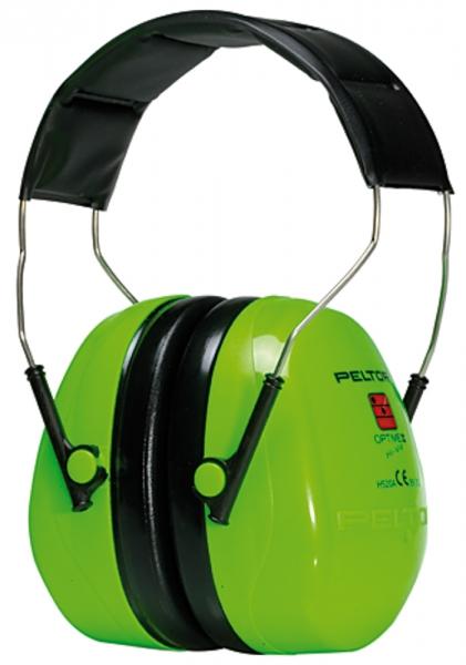 Kapselgehörschützer, Pegelbereich bis 105 dB, SNR-Wert 31 dB