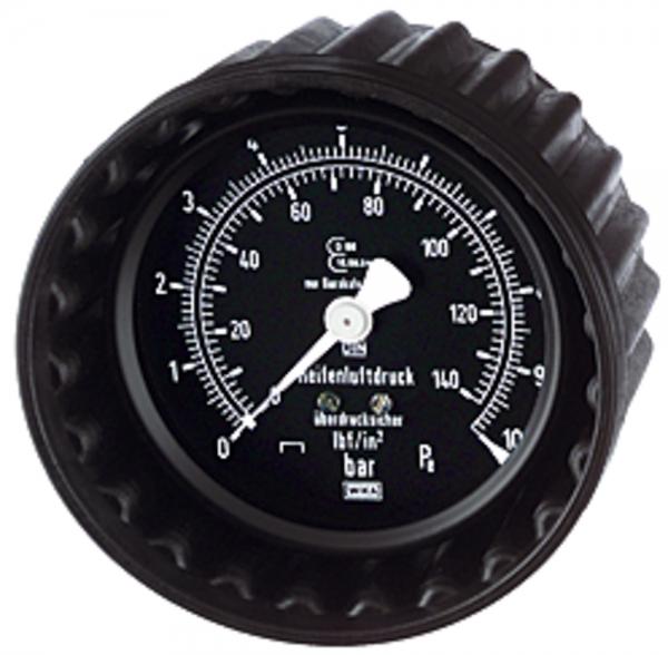 Manometer, 0 - 4 bar/50 psi, ø 80 mm, zum Stecken