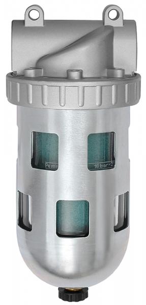 Spezialfilter »Standard«, PC-Behälter und Schutzkorb, BG 4, G 3/4