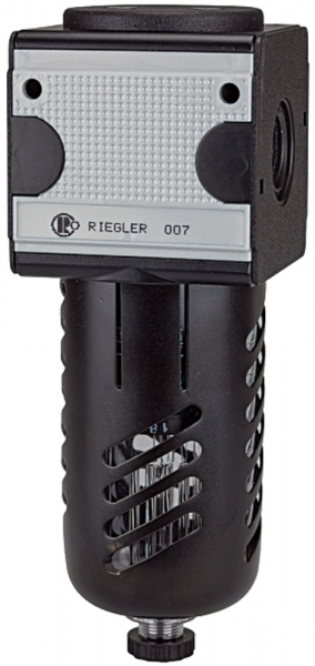 Mikrofilter »multifix«, mit PC-Behälter, Schutzkorb, BG 3, G 1/2