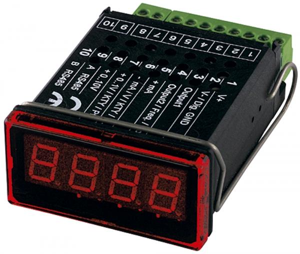 Mikroprozessorgesteuerte Digital-Anzeige, 4-stellige LED-Anzeige