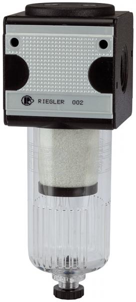 Vorfilter »multifix«, Polycarbonatbehälter, 0,3 µm, BG 1, G 1/4